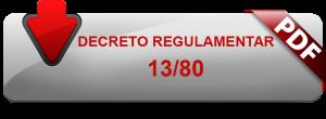 decreto regulamentado 13 / 80 , legislação elevadores, elevadores